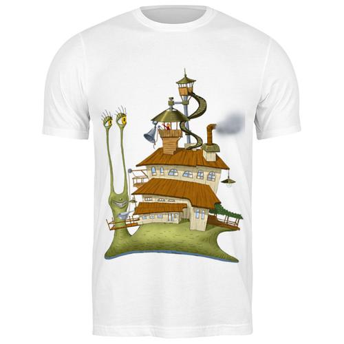 Футболка классическая Живой летающий дом #2105351 (цвет: БЕЛЫЙ, пол: МУЖ, качество: ЭКОНОМ, размер: M)