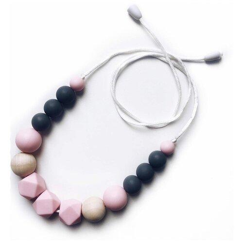 Слингобусы Mosaic Mini серо-розовый