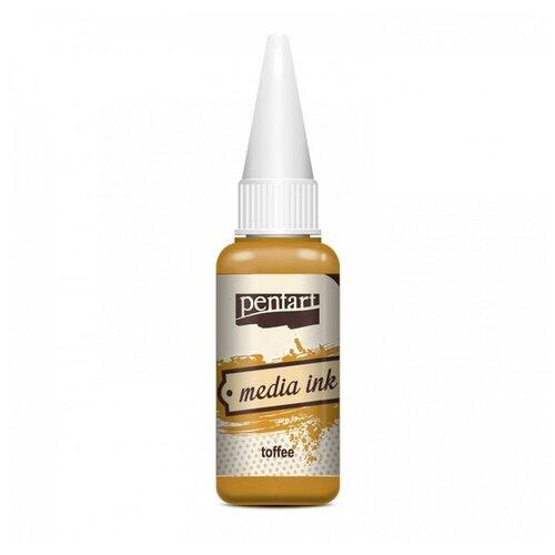 Купить Алкогольные чернила карамель (Toffee) 20 мл, Pentart, Краски