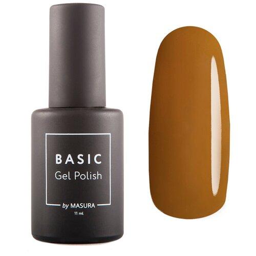 Гель-лак для ногтей Masura Basic, 11 мл, Миндальная Глазурь гель лак для ногтей masura basic 11 мл саргассово море