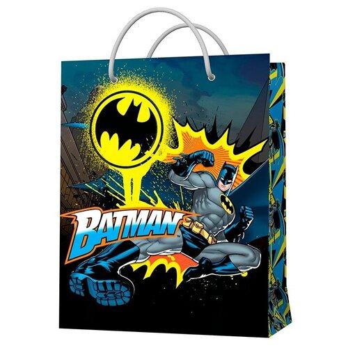 Фото - Пакет подарочный ND Play Batman 33.5 х 40.6 х 15.5 см черный пакет подарочный nd play lol 25 х 35 х 10 см мятный розовый