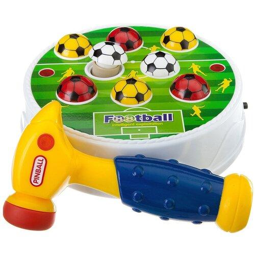 Купить Стучалка Junfa toys Футбол разноцветный, Развитие мелкой моторики