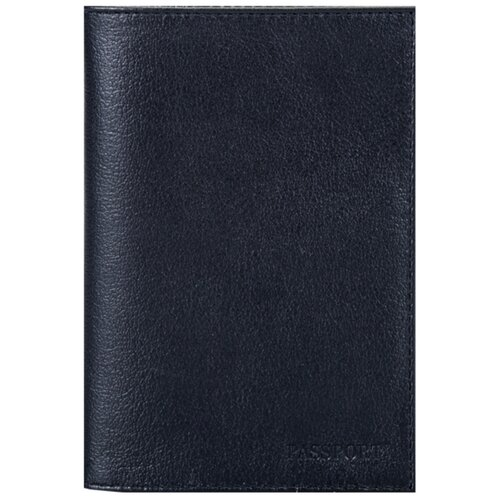 Обложка для паспорта FABULA Largo O.1.LG, черный
