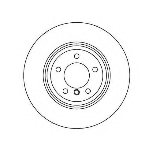 Тормозной диск задний MILES K010386 314x22 для Volkswagen Multivan, Volkswagen Transporter, Volkswagen Touareg volkswagen