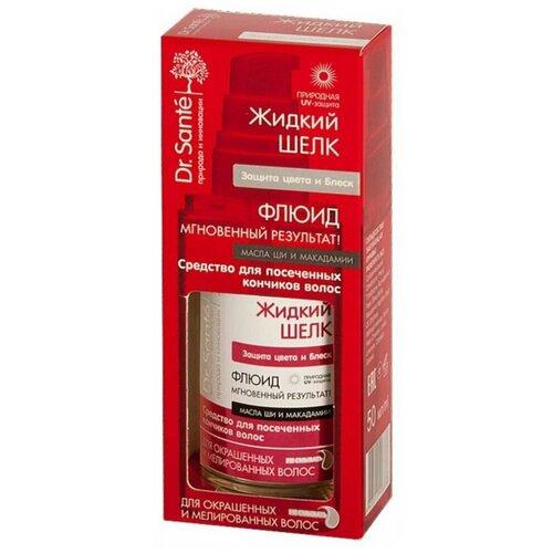 Dr. Sante Жидкий шелк Флюид для волос Защита цвета и блеск, 50 мл недорого