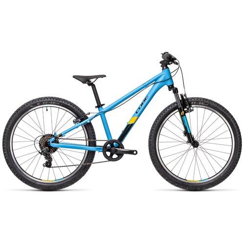 Фото - Подростковый горный (MTB) велосипед Cube Acid 240 CMPT (2021) blue/orange (требует финальной сборки) велосипед cube elite c 68 race 29 2x 2016
