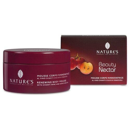 Купить Питательный. Восстанавливающий мусс-крем для тела - Nature's - Beauty Nectar Renewing Body Mousse 200 мл.