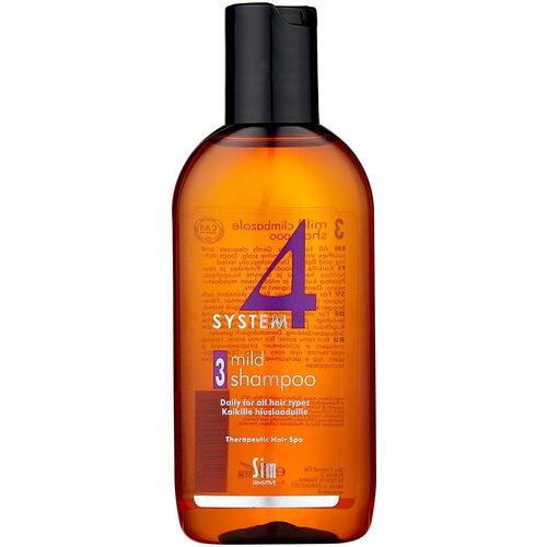 Купить Sim Sensitive SYSTEM 4 Mild Climbazole Shampoo 3 Терапевтический шампунь №3 для чувствительной кожи головы, 100 мл