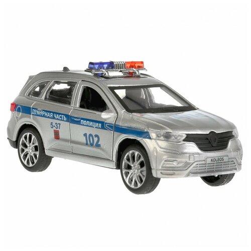Фото - Машина Технопарк Renault Koleos Полиция инерционная 268492 машина технопарк chevrolet tahoe инерционная 280925