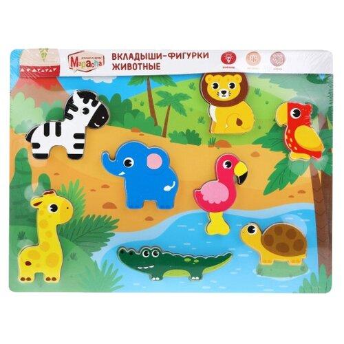Рамка-вкладыш Mapacha Животные (76850), 8 дет. недорого