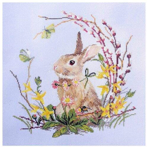 Набор для вышивания Весенний кролик 30 x 30 см МАРЬЯ ИСКУСНИЦА 03.016.19 набор для вышивания марья искусница 11 001 24 испания