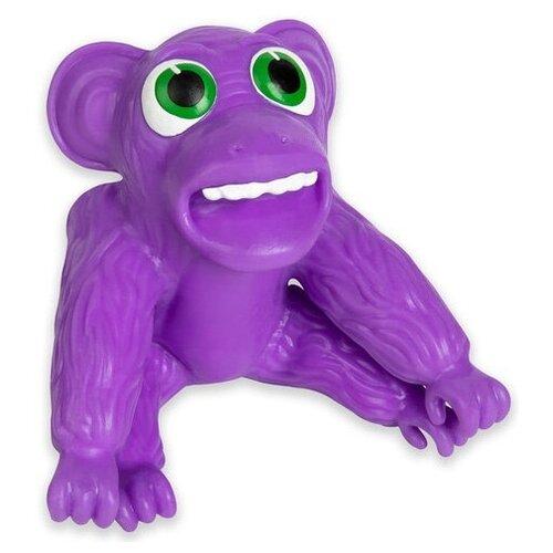 Игрушка антистресс 1Toy Супер Стрейчеры Облизьяна Purple Т18