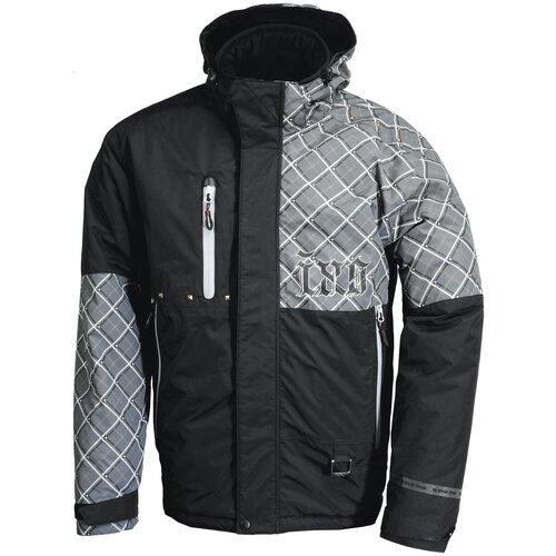 Текстильная куртка IXS Square черный/серый 3XL (Размер производителя)