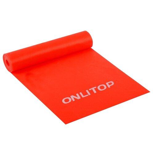 Эспандер ленточный для фитнеса, 150 х 15 х 0,04 см, нагрузка 10 кг, цвета микс