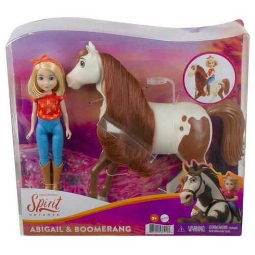 Купить Игровой Набор Mattel Spirit Абигейл и Бумеранг, Игровые наборы и фигурки