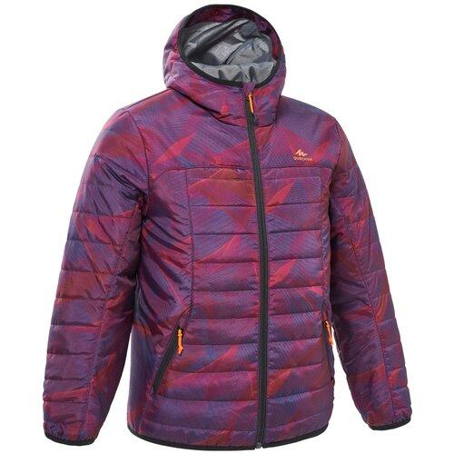 Куртка детская MH500, размер: 123-130 CM 7-8, цвет: Лиловый QUECHUA Х Декатлон