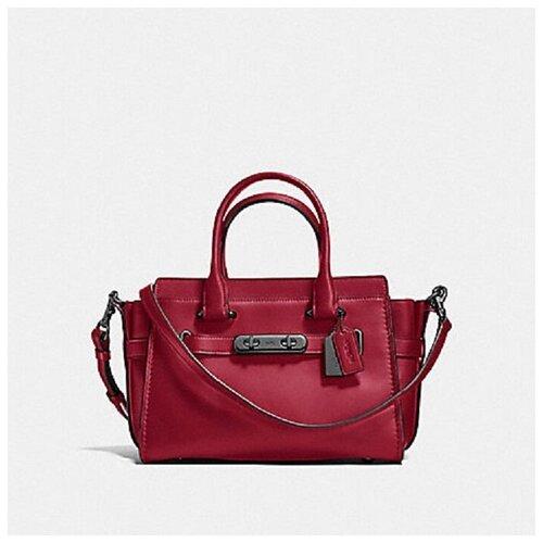 Женская кожаная сумка Coach coach бумажник