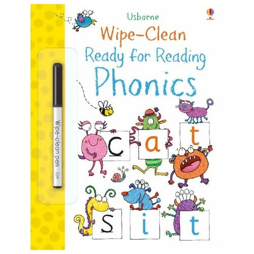 Wipe-Clean Ready for Reading Phonics Book i m ready for phonics workbook 1