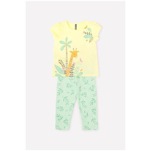 Купить Комплект одежды crockid размер 68, бледно-желтый, нео-минт к287, Комплекты