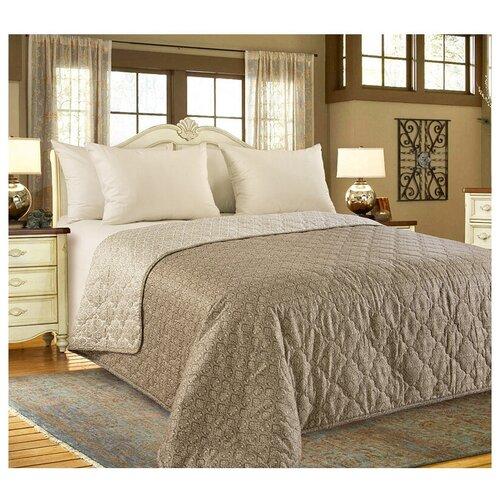 Фото - Покрывало Текс-Дизайн Этюд 180x210 см, коричневый покрывало текс дизайн шанталь 140х210 см голубой