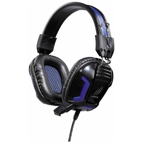 Компьютерная гарнитура HAMA uRage SoundZ Essential black/blue