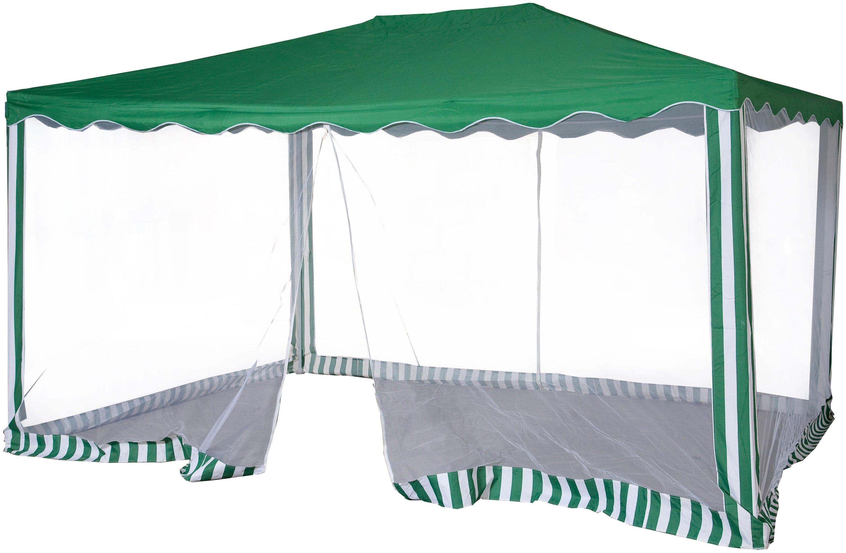 Шатер Green Glade 1088, со стенками и москитной сеткой, 3 х 4 х 2.5 м