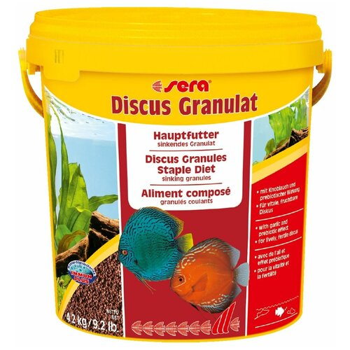 Сухой корм для рыб Sera Discus Granulat, 4.2 кг
