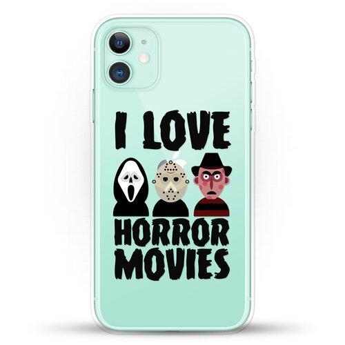 Силиконовый чехол Фильмы Ужасов на Apple iPhone 11