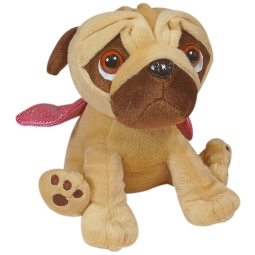 Мягкая игрушка Keel Toys Pugsley Мопс в наряде с крыльями 22 см недорого