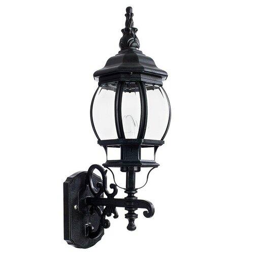 Фото - Arte Lamp Уличный настенный светильник Atlanta A1041AL-1BG, E27, 100 Вт, цвет арматуры: медный, цвет плафона бесцветный уличный светильник arte lamp atlanta a1041al 1bn