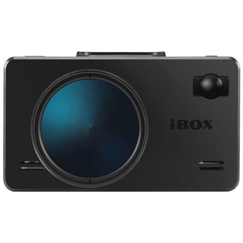 Видеорегистратор с радар-детектором iBOX iCON LaserVision WiFi Signature Dual, GPS, ГЛОНАСС, черный