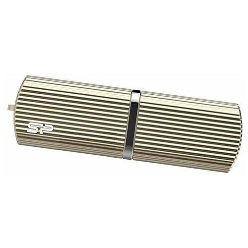 Флешка Silicon Power Marvel M50 128 GB, 1 шт., шампанское