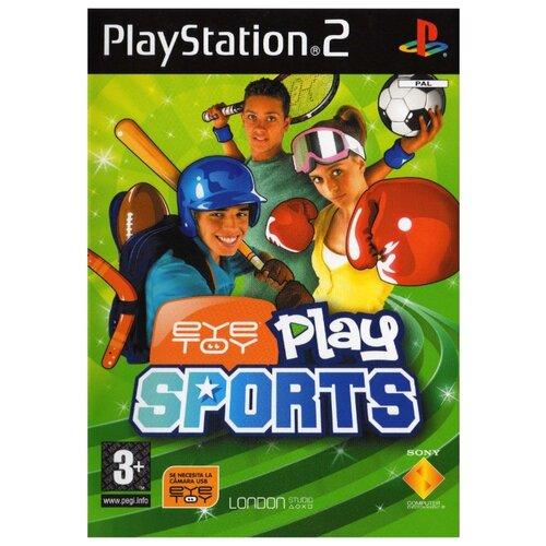 Игра для PlayStation 2 EyeToy: Play Sports, английский язык
