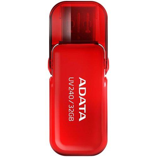 Фото - Флешка ADATA UV240 32 GB, красный флешка adata uv240 16 gb черный