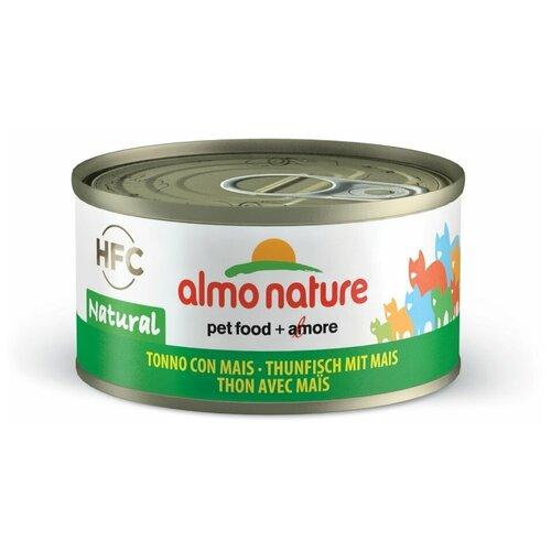 Влажный корм для кошек Almo Nature Legend, с тунцом, с кукурузой 70 г