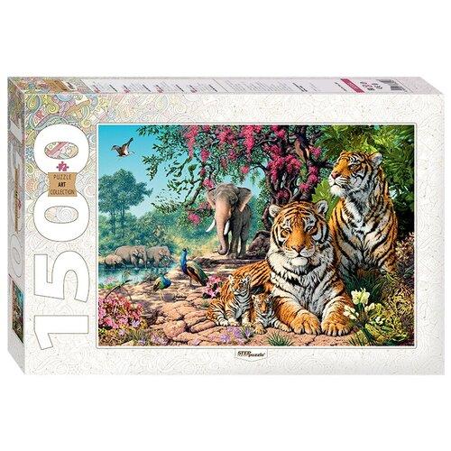 Купить Пазл Step puzzle Art Collection Тигры (83054), 1500 дет., Пазлы
