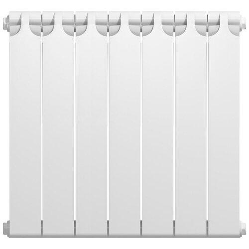 Радиатор секционный биметаллический Теплоприбор BR1-500, кол-во секций: 7, 560 мм. подключение: универсальное боковое