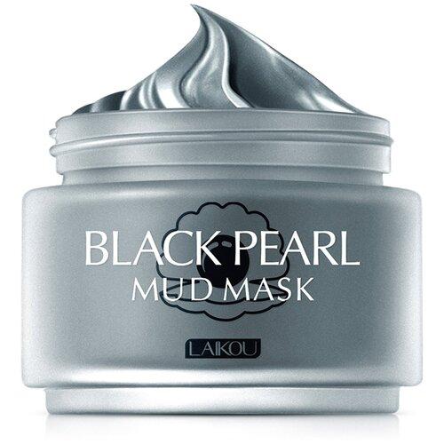 Laikou Грязевая маска для лица с черным жемчугом, 85гр.