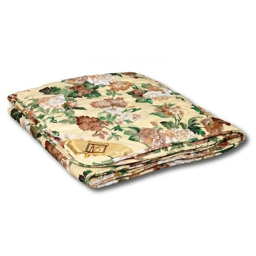 Фото - Одеяло АльВиТек Стандарт. легкое, 200 х 220 см (бежевый/коричневый/зеленый) одеяло альвитек крапива традиция легкое 200 х 220 см зеленый