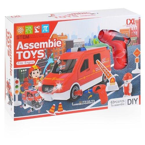 Конструктор Can Xin Long Toys Assemble Toys CXL200-57 Пожарная машина