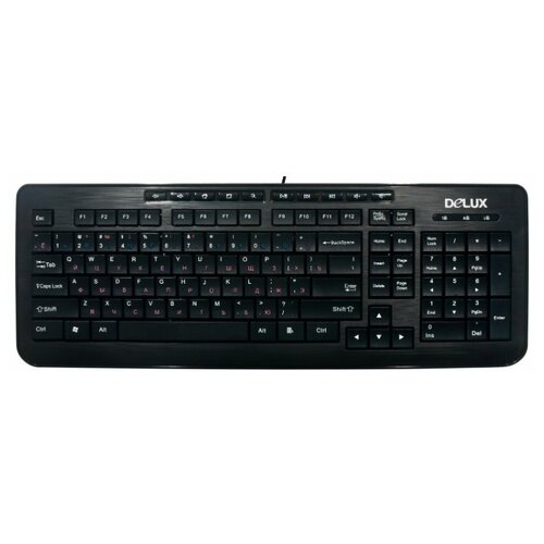 Клавиатура Delux K3100U Black
