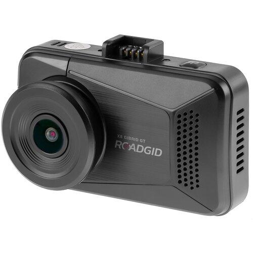 Видеорегистратор с радар-детектором Roadgid X8 Gibrid GT, GPS, ГЛОНАСС, черный матовый