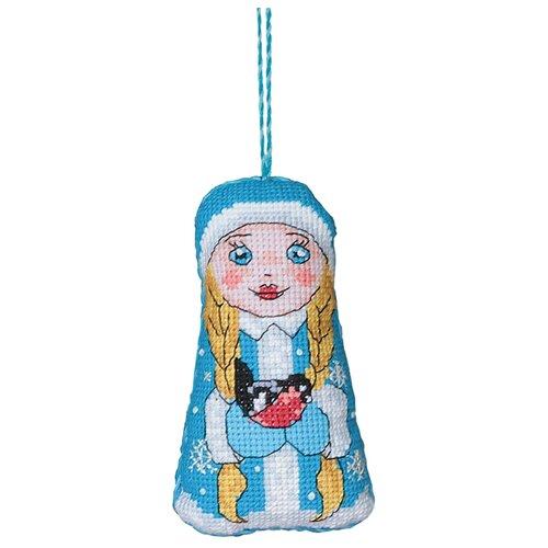 Купить PANNA Набор для вышивания Игрушка. Снегурочка 6 х 10 см (IG-1430), Наборы для вышивания