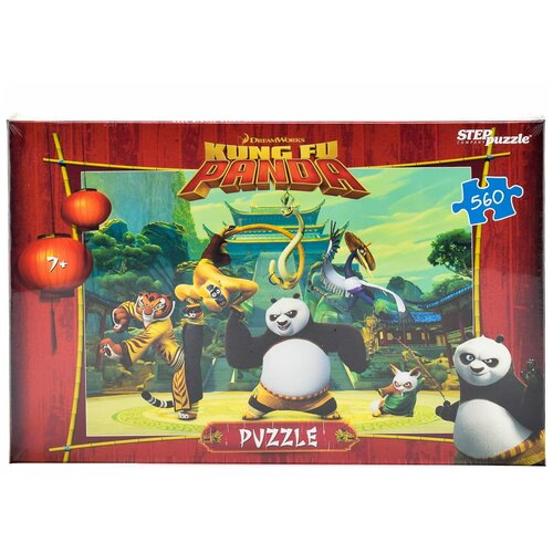 Пазл Step puzzle Кунг-фу Панда (97041), 560 дет. пазл step puzzle черепашки ниндзя 97070 560 дет