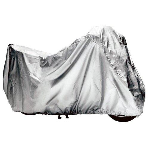 Чехол-Тент На Мотоцикл Защитный, Размер М (225х90х110см), Цвет Серый, Универсальный AIRLINE арт. ACMC05