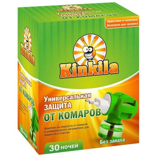 Фумигатор + жидкость Кинкила от комаров, 30 мл, 30 ночей