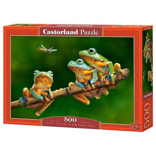Фото - Пазл Castorland The Frog Companions (B-52301), 500 дет. пазл castorland лето в альпах b 53360 500 дет