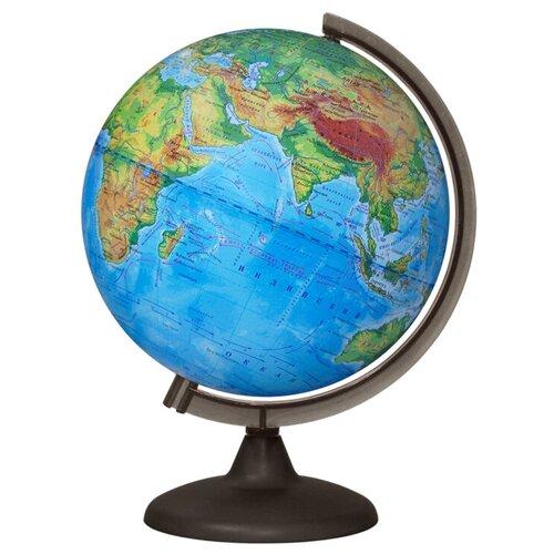 Глобус физический Глобусный мир 250 мм (10160) дымчатый