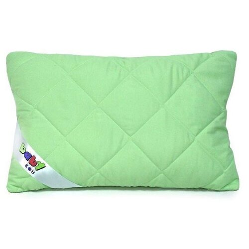 Подушка Мягкий сон 40*60 см, Бамбук, полиэстер волокно, микрофибра, 82 г/м, чехол