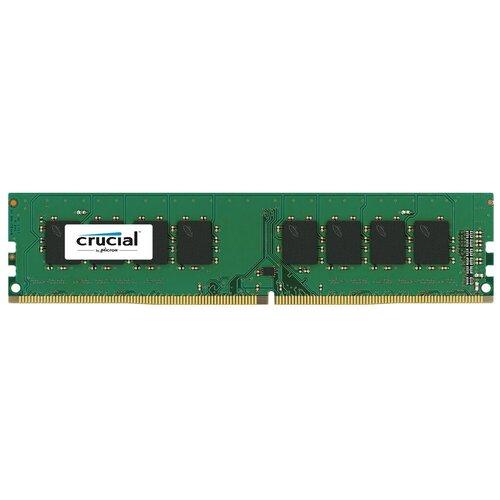 Фото - Оперативная память Crucial 4GB DDR4 2133MHz DIMM 288pin CL15 CT4G4DFS8213 оперативная память patriot memory sl 4gb ddr4 2133mhz dimm 288pin cl15 psd44g213381